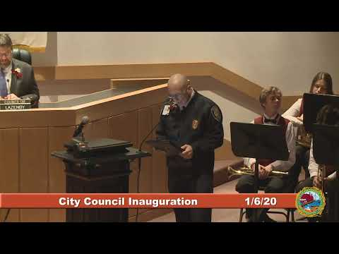 City Council Inauguration 1.6.20