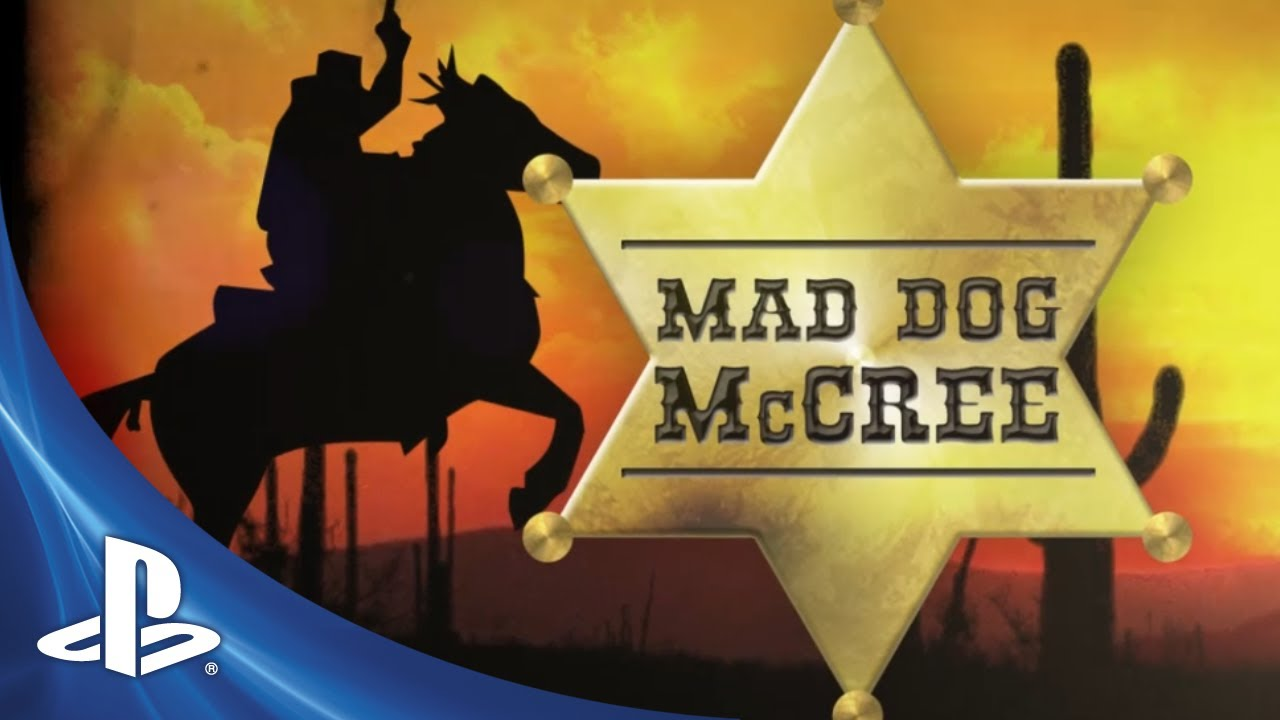 Mad Dog McCree Rides Onto PSN Tuesday