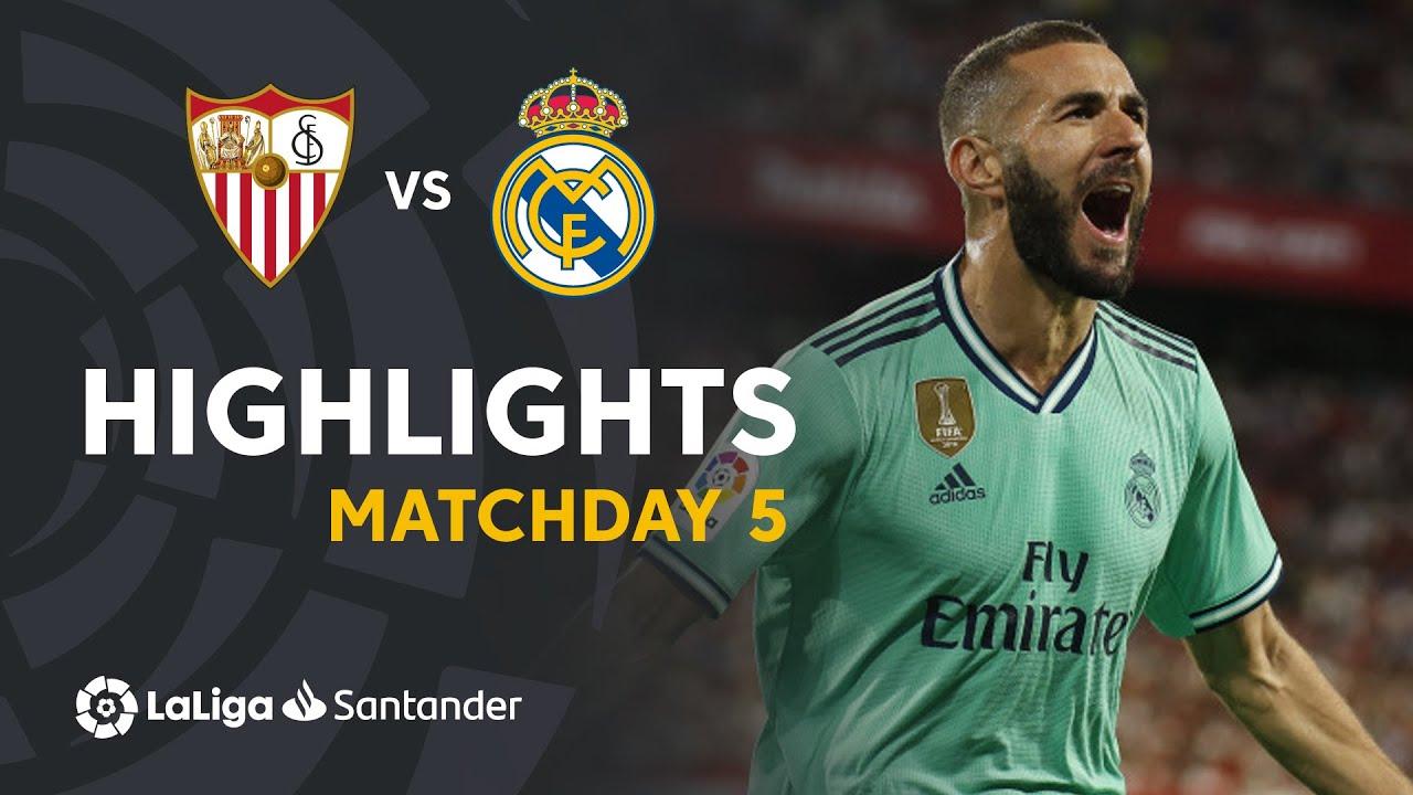 Sevilla Vs Real Madrid Highlights