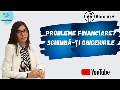 Cum să îți rezolvi problemele financiare -  Educație financiară pentru începători