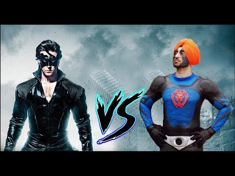 Krrish vs Super Singh - Who would win in a Fight???