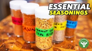 Essential Seasonings & 5 Easy Homemade Blends
