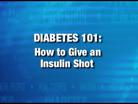 Schild mit diabetischem