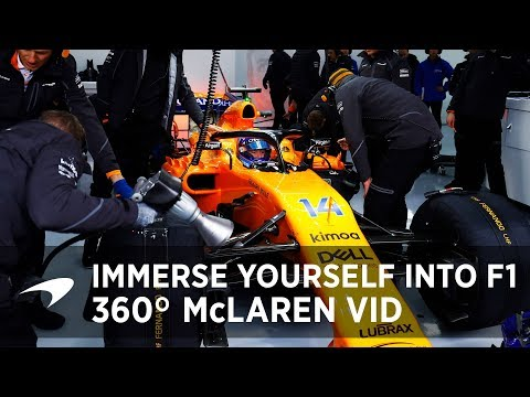 360 McLaren experience with Sky F1