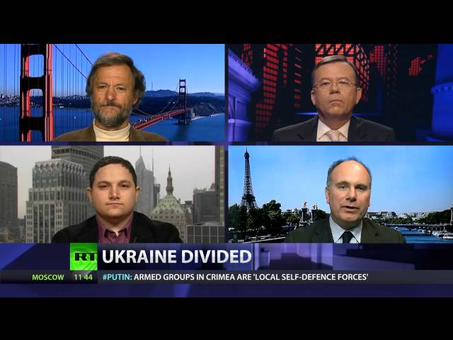 How is Crimea covered in Western media? How can US policy in Ukraine be described? Does Russia use the `Responsibility to protect` doctrine in Ukraine? And is Ukraine destined to be divided? CrossTalking with Stephen Zunes, Eric Draitser and John Laughland.