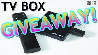 [Ended]GIVEAWAY! A95X PRO Android TV Box w/ Voice Control! - GearBest[Ended]