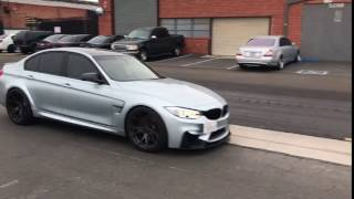 FI Revolution Exhaust Drive By Valves Closed BMW F80 M3