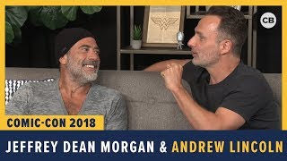 Jeffrey Dean Morgan And Andrew Lincoln - SDCC 2018 Exclusive Interview