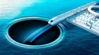 What If You Dug a Tunnel Under the Ocean?