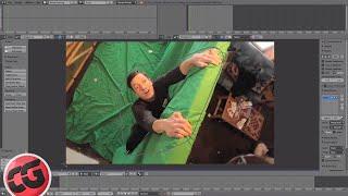 Beginner Blender VFX Tutorial Greenscreen - Masking!