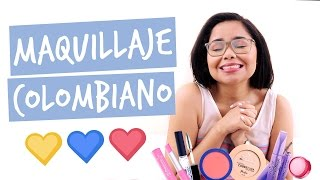 MAQUILLAJE COLOMBIANO 💛💙❤️ MIS PRODUCTOS  FAVORITOS VOGUE SMART NAILEN JOLIE DE VOGUE  Y MAS