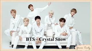 BTS - Crystal Snow (Easy Lyrics)