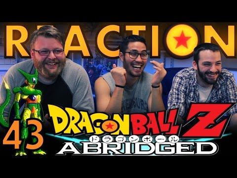 TFS DragonBall Z Abridged REACTION!! Episode 43