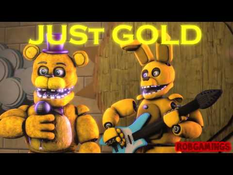 [Fnaf song]-Just gold (на Русском) (видео)