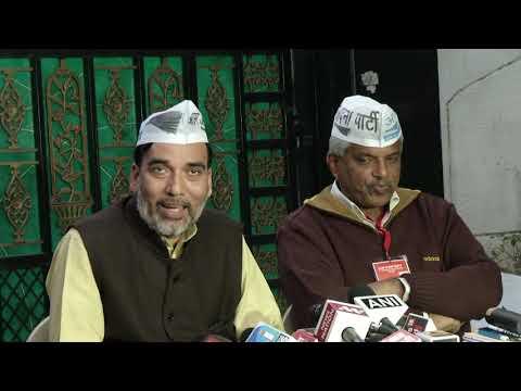 AAP Leader Pankaj Gupta and Gopal Rai Briefs About the National Council Meet