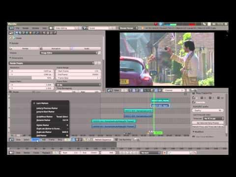 Blender Beginners Tutorial: Basic Video Editing Using The Video Editor.