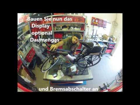Umbau vom Fahrrad zum Pedelec mit dem Umbausatz von Senglar