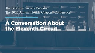Click to play: Luncheon Panel: A Conversation About the Eleventh Circuit