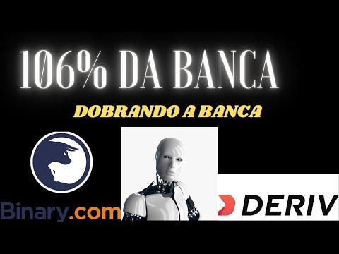 BOT BINARY BANCA BAIXA COMO FIZ 106% EM UMA BANCA PEQUENA