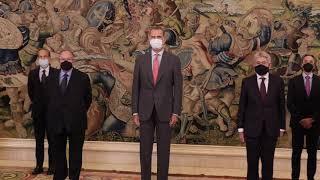 Audiencia del Rey a la Cámara de Comercio de España y del Consejo General de Economistas de España