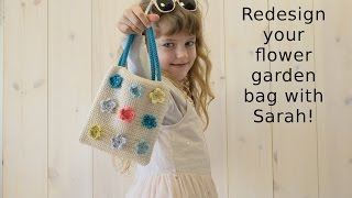 Redesign your bag with my daughter Sarah!