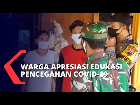Rela Terjang Medan Sulit, TNI Semangat Edukasi Protokol Kesehatan di Desa!