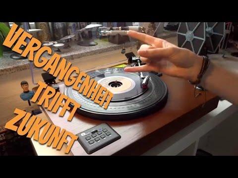 USB Bluetooth PLATTENSPIELER mit Vinyl to MP3 Funktion von 1byone im Test Review