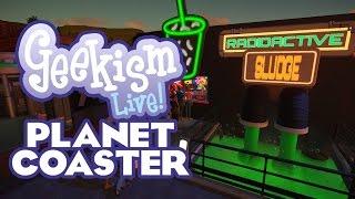 🔴 Community Park | Planet Coaster | Geekism LIVE!