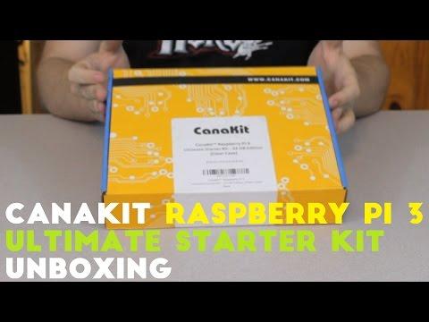 CanaKit Raspberry Pi 3 - ULTIMATE STARTER KIT - Unboxing