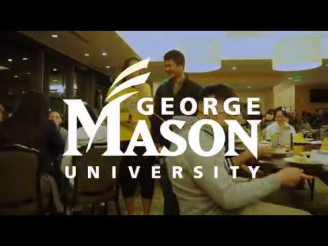 George Mason #MannequinChallenge - The only thing frozen is the students, not the turkey.