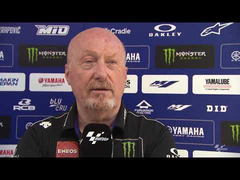 Monster Energy Yamaha on the myWorld Motorrad Grand Prix von Österreich