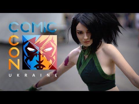 Comic Con Ukraine - cosplay video 2019   часть первая   WISE BLOG