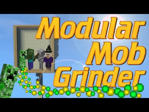 Minecraft: How to make a Mob Grinder in MInecraft | SURVIVAL