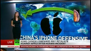 Chinese court takes aim at Apple