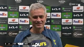 Mourinho praises Dele Alli and Dane Scarlett   Spurs boss' reaction to his side's progression