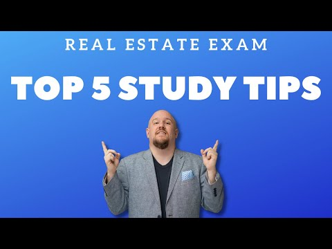 How To Start Studying for Your Real Estate Exam - YouTube