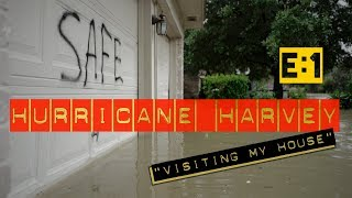 AFTERMATH: Hurricane Harvey, VISITING MY HOUSE, Michaels House Is Under Water, Houston Flooding, EP1