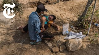 How the Indonesia Earthquake Made Soil Flow Like Water | NYT News