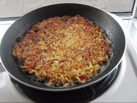 Resep Masakan dan Cara Membuat Martabak Mie Telur super pedas!