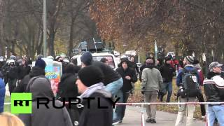 Germany: See Berlin leftists clash with police, anti-immigration protesters