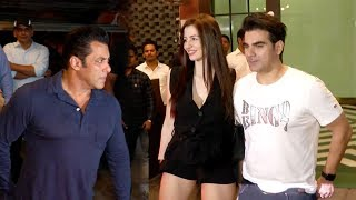 Arbaaz Khan s GRAND ENTRY With New Gf In Front Of Salman Khan