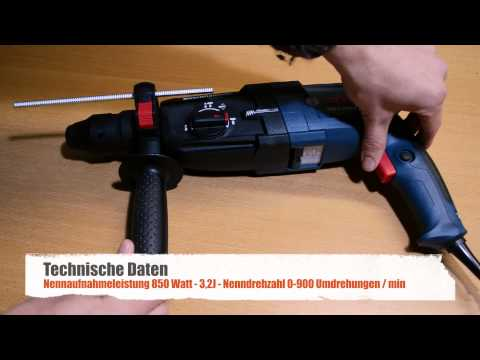 Bosch GBH 2-28 DFV Bohrhammer Test
