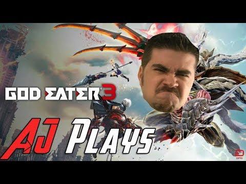 AngryJoe Plays God Eater 3!