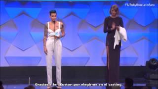 Premio GLAAD y discurso inspirador de Ruby Rose - Taylor Swift la presenta (Subtítulos en Español)