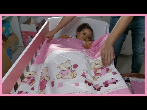 Baby Cot for Newborn Little Sister Assembly Process