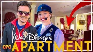 A Look at Walt Disney's Apartment! Walk in Walt's Disneyland Footsteps Tour!