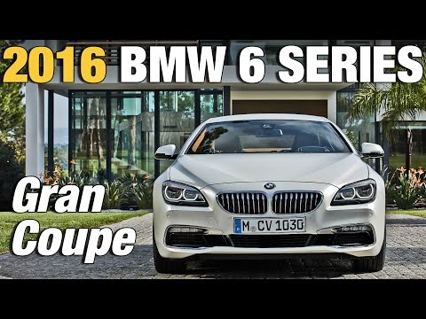 2016 BMW 6 Series Gran Coupe facelift unveiled