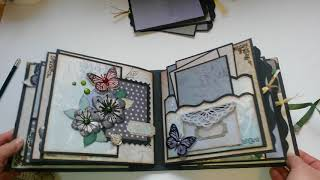 Mini Album Vintage Scrapbook