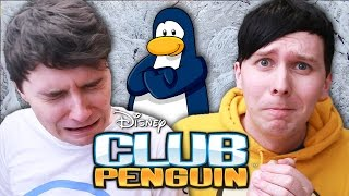 Dan and Phil play CLUB PENGUIN! (RIP)