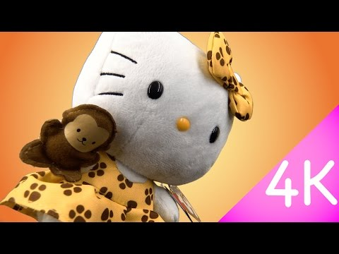 Hello Kitty Beanie Babies - Hello Kitty Safari 4k